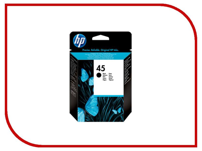 Картридж HP 45 Black для DJ 850C 51645GE<br>