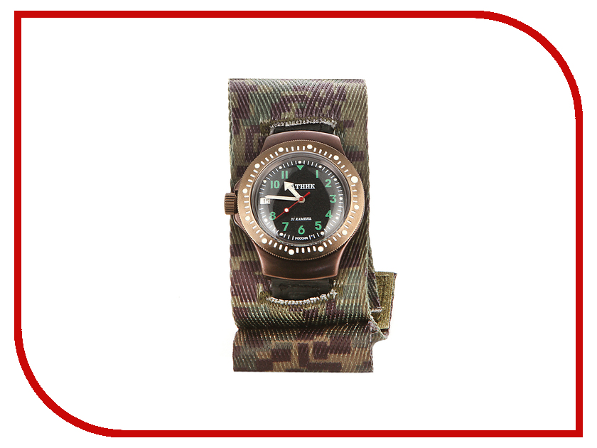 Часы наручные аналоговые Восток-Дизайн Ратник 2616ВД/601/002/КЧ