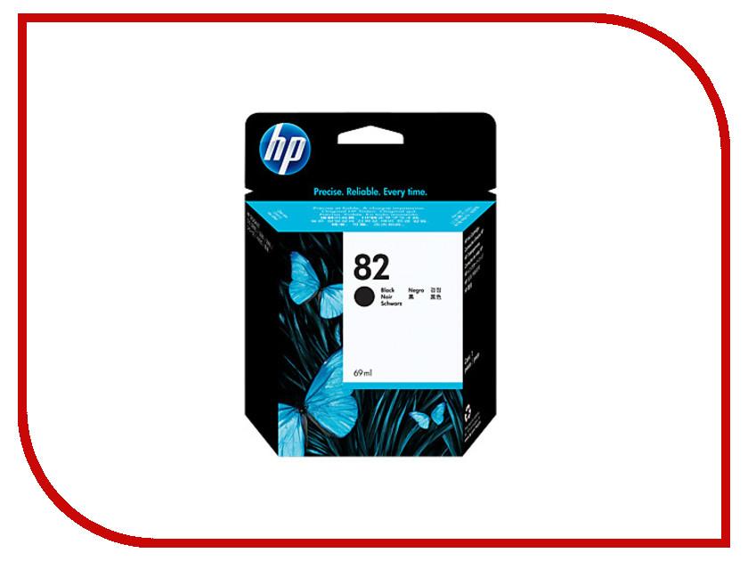 Картридж HP 82 CH565A 69ml Black для DJ 500 / 800 картридж hp 934 black c2p19ae