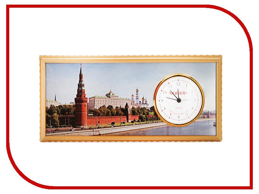 Часы настольные Восток-Дизайн A6 Москва Кремль<br>