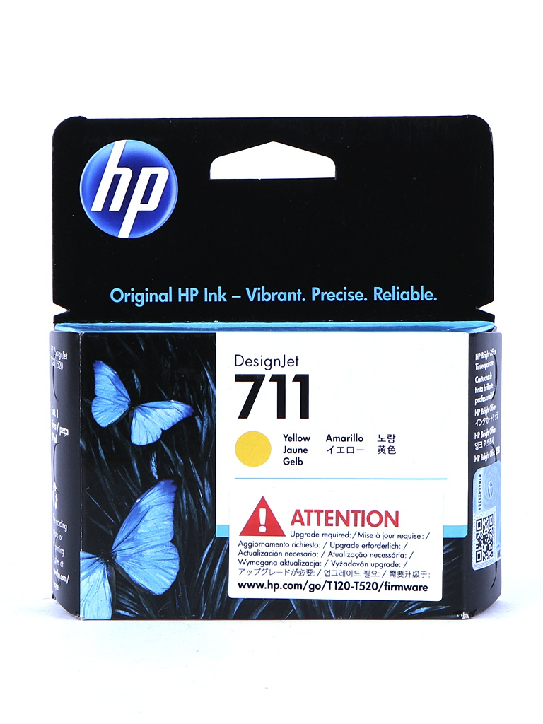 Картридж HP CZ132A Yellow