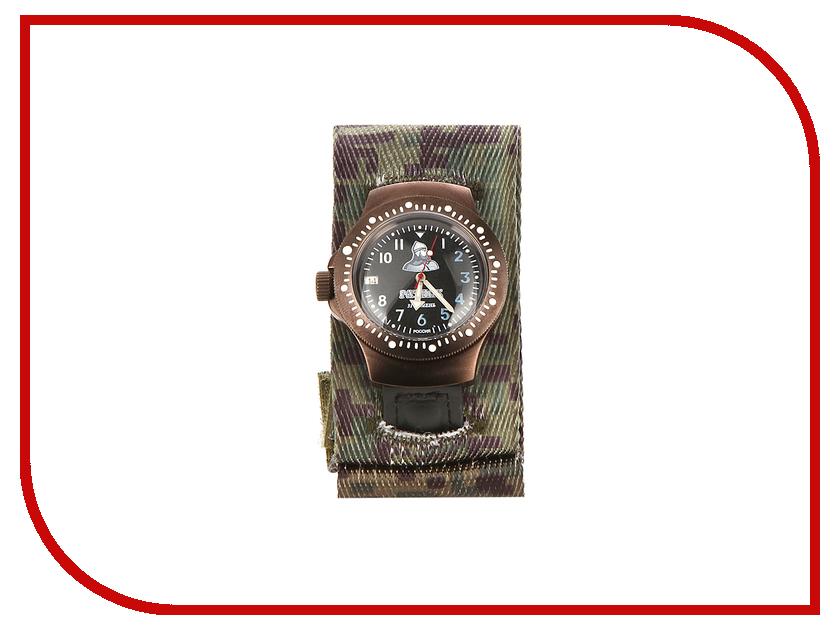 Часы наручные аналоговые Восток-Дизайн Ратник 2616ВД/601/001/КЧ