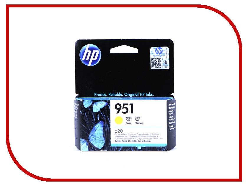 Картридж HP 951 CN052AE Yellow dangdangdh 951