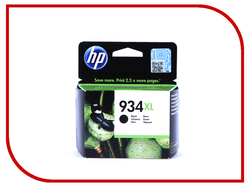 Картридж HP 934XL C2P23AE Black картридж hp 934xl c2p23ae чёрный 1000 стр