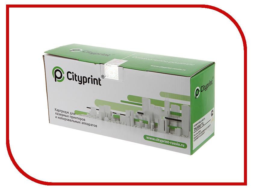 Картридж Cityprint TK-590 Yellow для Kyocera FS-C2026MFP/C2126MFP/C2526MFP/C2626MFP<br>