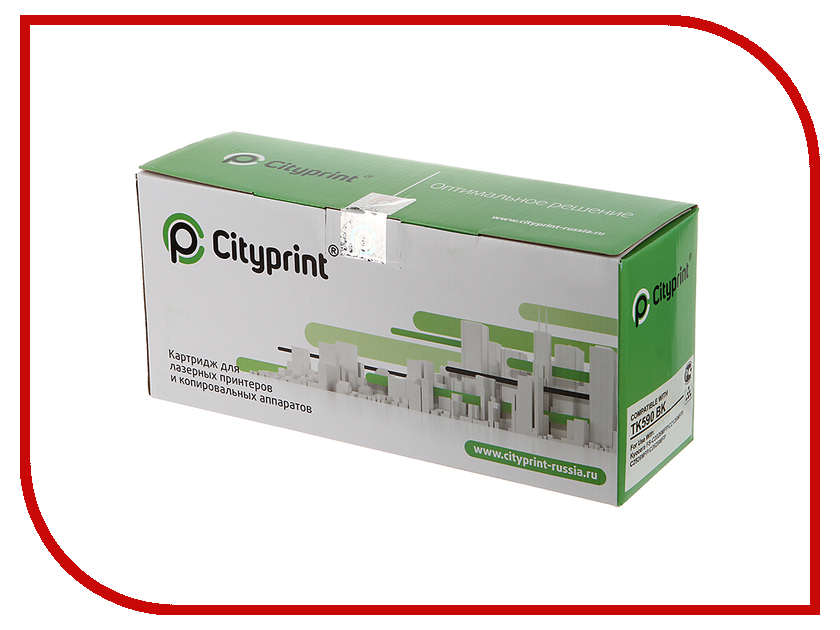 Картридж Cityprint TK-590 Black для Kyocera FS-C2026MFP/C2126MFP/C2526MFP/C2626MFP<br>