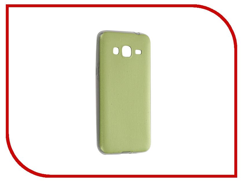 Аксессуар Чехол Samsung Galaxy J3 2016 SM-J320 Activ HiCase Silicone Green 58337<br>