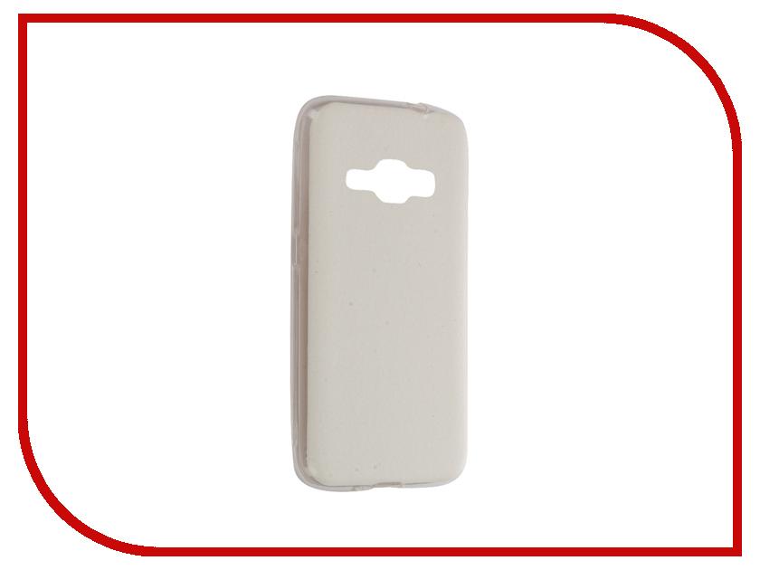 Аксессуар Чехол Samsung Galaxy J1 2016 SM-J120 Activ HiCase Silicone White 58329<br>