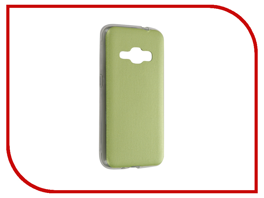 Аксессуар Чехол Samsung Galaxy J1 2016 SM-J120 Activ HiCase Silicone Green 58327