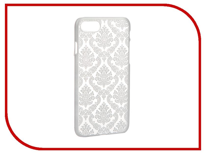 Аксессуар Чехол Activ Decor-01 Ultrathin для APPLE iPhone 7 Silver 61437<br>