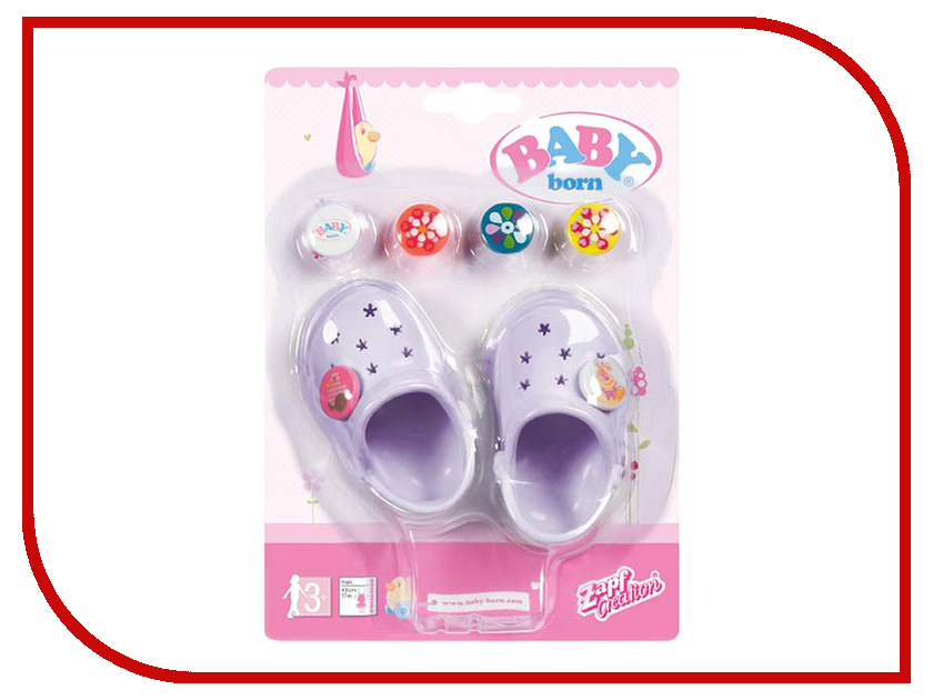 Кукла Zapf Creation Baby Born Сандали фантазийные 822-067 сандали ecco 821014