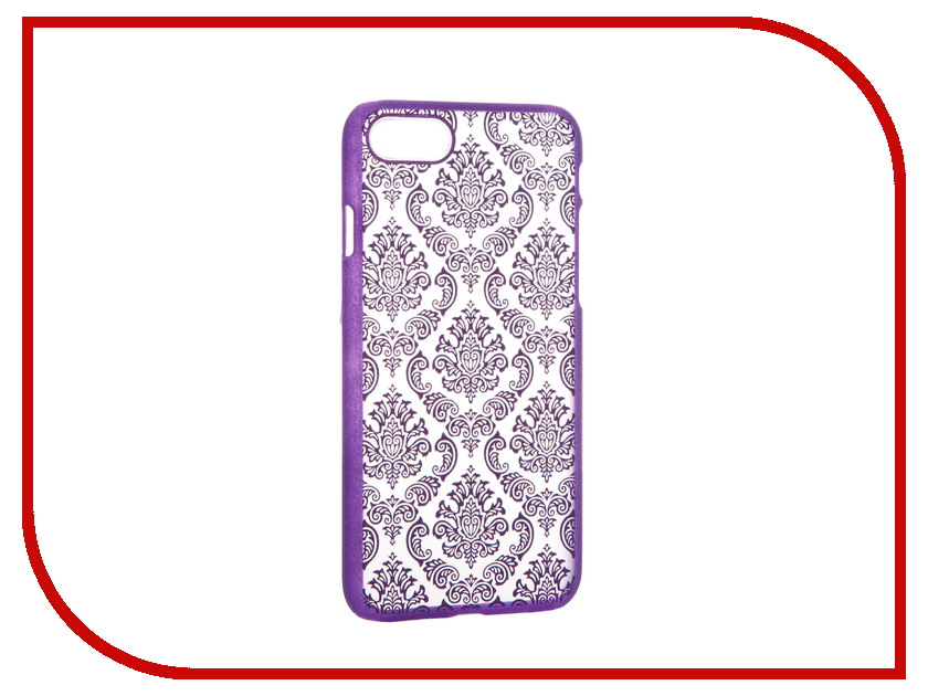 Аксессуар Чехол Activ Decor-01 Ultrathin для APPLE iPhone 7 Purple 61434<br>