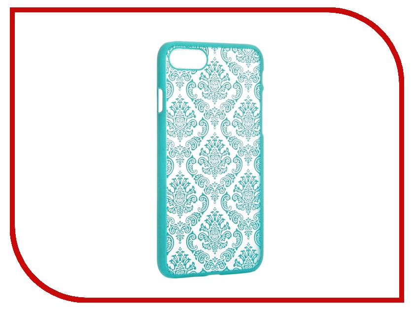 Аксессуар Чехол Activ Decor-01 Ultrathin для APPLE iPhone 7 Green 61436<br>