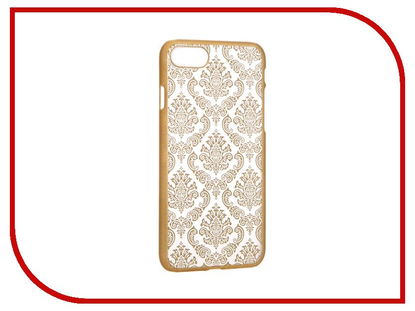 Аксессуар Чехол Activ Decor-01 Ultrathin для APPLE iPhone 7 Gold 61435<br>