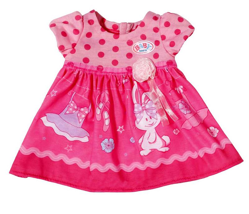 Одежда для куклы Zapf Creation Baby Born Платья 822-111 все цены