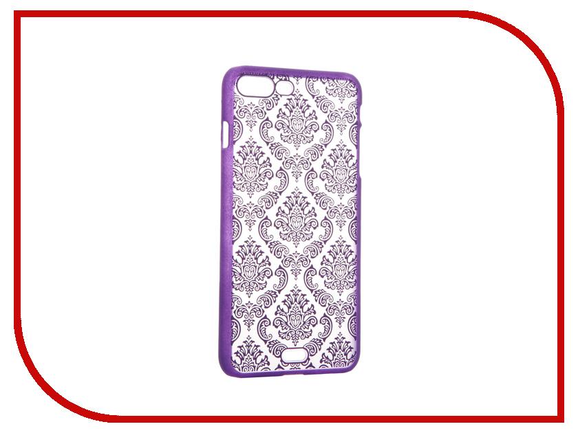 Аксессуар Чехол Activ Decor-01 Ultrathin для APPLE iPhone 7 Plus Purple 61442<br>