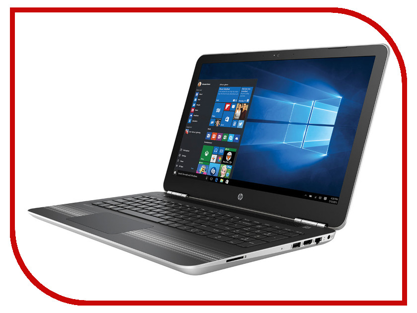 Ноутбук HP Pavilion 15-aw030ur Silver X7H89EA (AMD A10-9600P 2.4 GHz/8192Mb/1000Gb/DVD-RW/AMD Radeon R7 M440 4096Mb/Wi-Fi/Bluetooth/Cam/15.6/1920x1080/Windows 10 64-bit)<br>