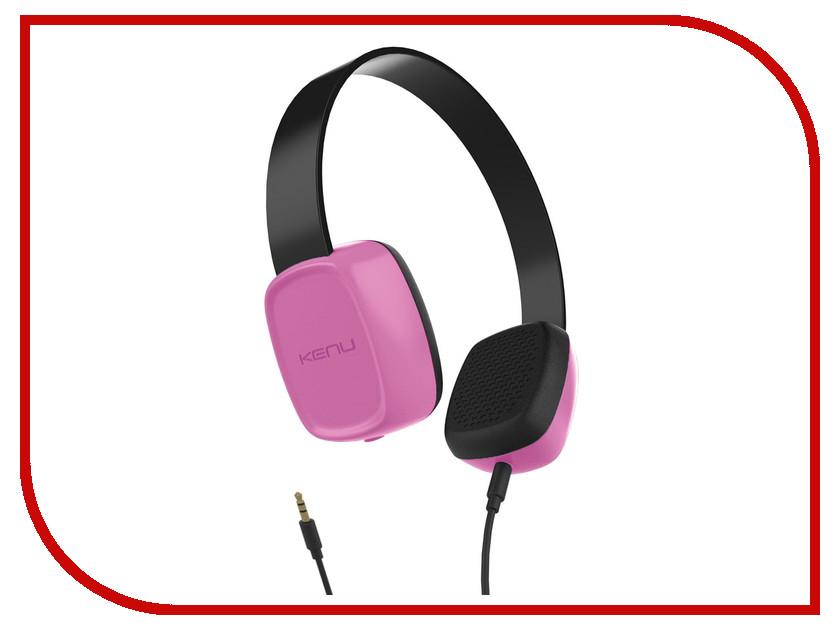 Наушники Kenu Groovies Pink GV1-PK-NA<br>