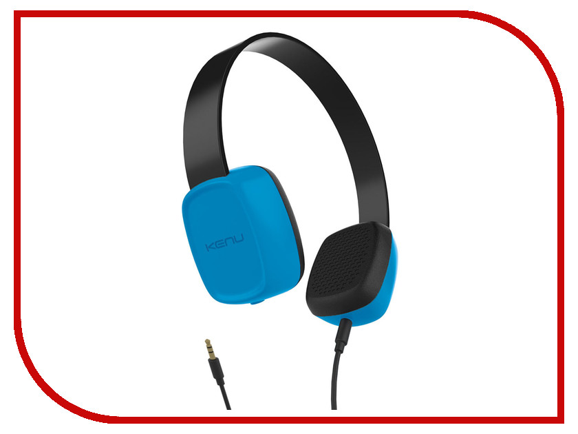 Наушники Kenu Groovies Blue GV1-BL-NA<br>