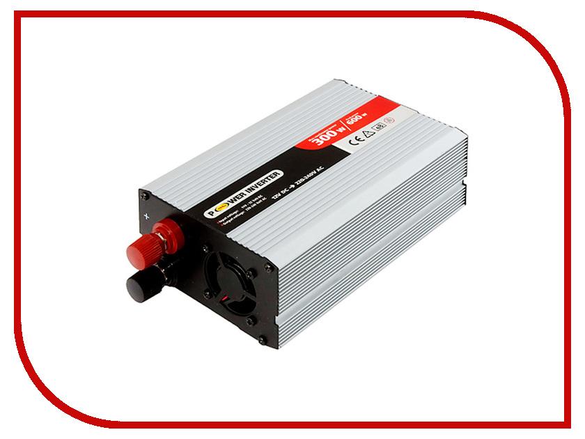 Автоинвертор Mega Electric S-32007 (300W) с 12В на 220В