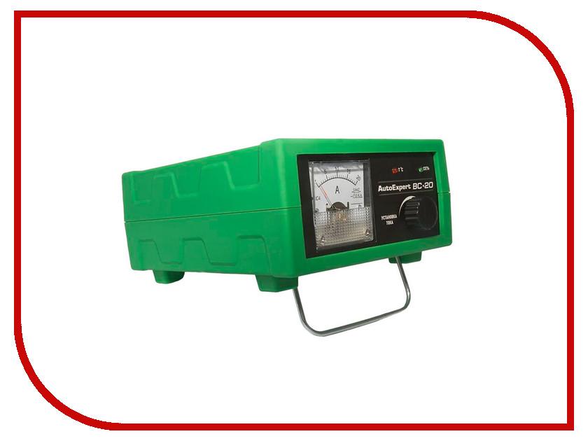Зарядное устройство для автомобильных аккумуляторов AutoExpert BC-20<br>
