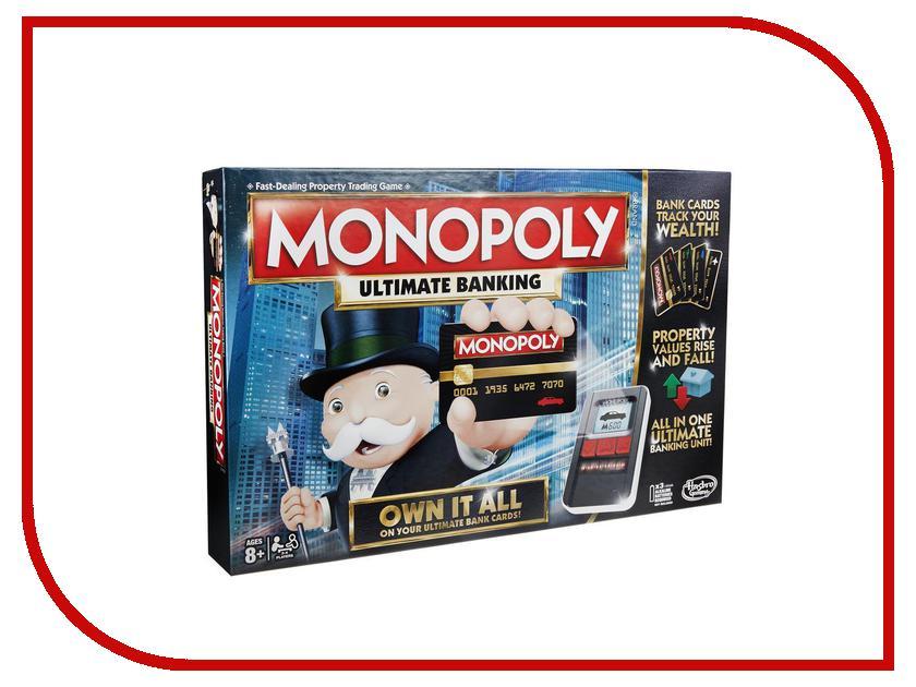 Игрушка Hasbro Games Монополия B6677 hasbro games классическая монополия обновленная c1009121