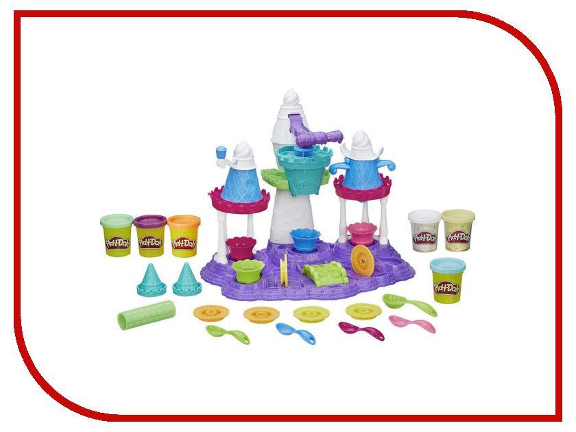 Игрушка Hasbro Play-Doh Замок мороженого B5523 hasbro play doh игровой набор из 3 цветов цвета в ассортименте с 2 лет
