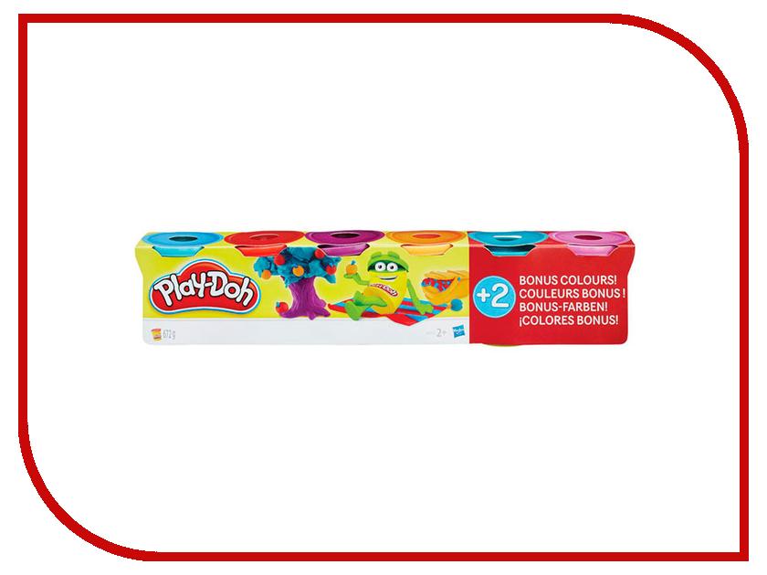 Набор для лепки Hasbro Play-Doh 4+2 B6752