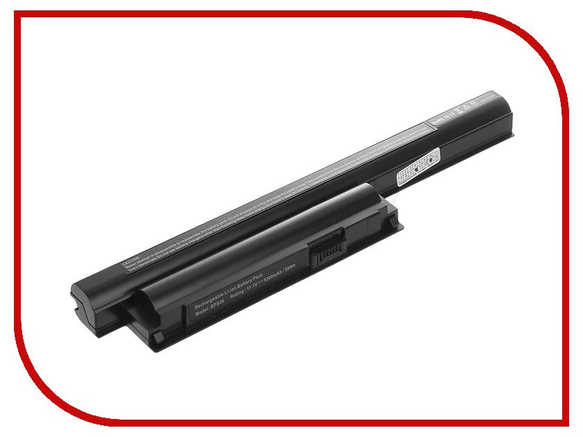 Аккумулятор Tempo BPS26-NOCD 10.8V 5200mAh для Sony Vaio VPCCA/VPCCB/VPCEG/VPCEH/VPCEJ/SVE Series блок питания tempo lac so06 19 5v 4 7a 6 0x4 4mm 90w для sony vaio vgn sz vgn fz cr fs fe fj s3 s4 s5 series vgp ac19v10