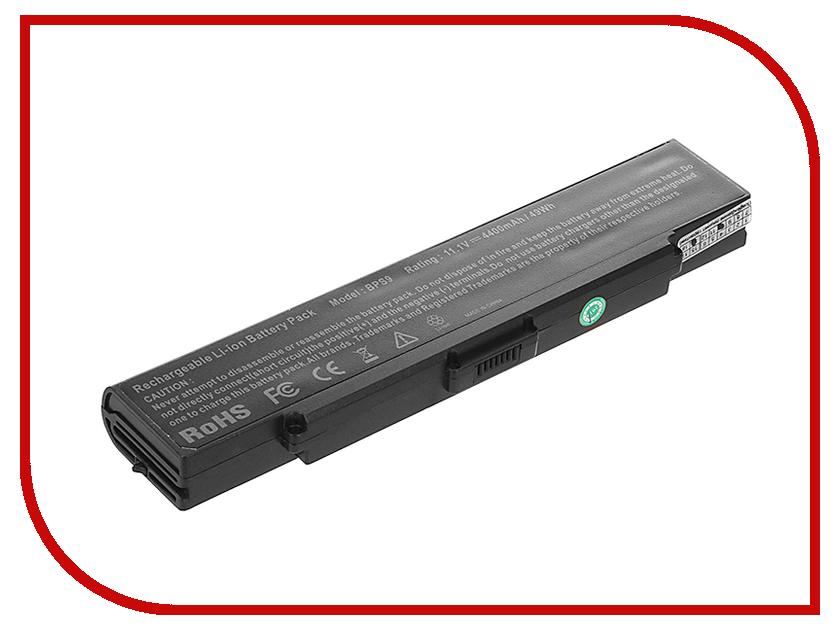 Аккумулятор Tempo BPS9-NOCD 11.1V 4400mAh для Sony Vaio VGN-CR/VGN-AR/VGN-NR/VGN-SZ6 Series блок питания tempo lac so06 19 5v 4 7a 6 0x4 4mm 90w для sony vaio vgn sz vgn fz cr fs fe fj s3 s4 s5 series vgp ac19v10
