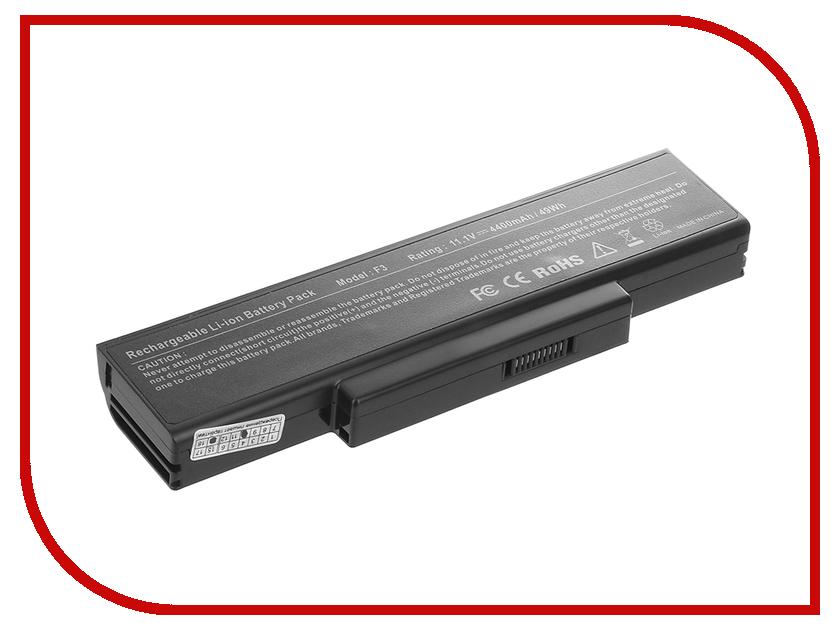Аккумулятор Tempo F3 11.1V 4400mAh для ASUS M51/F2/F3/F7/A9/Z53/X56/K73/N72 Series