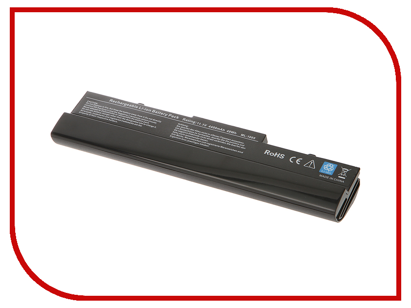Аккумулятор Tempo 1005H 11.1V 4400mAh для ASUS Eee PC 1001PX/1001HA/1005HA/1005HAG/1005HE/1005HR/1005PEB/1101HA Series