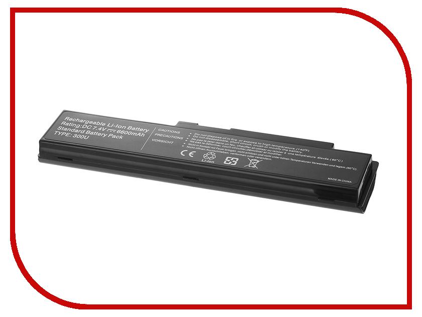 Аккумулятор Tempo 300U 7.4V 6600mAh для Samsung 300U/300U1A/300U1Z/N310/N315/NC310/N311/X118/X120/X170/X171 Series