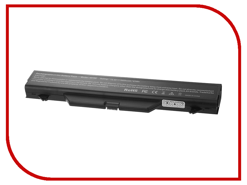 Аккумулятор Tempo 4510s 14.4V 4400mAh для HP ProBook 4510s/4515s/4710s/4720s Series laptop keyboard for hp probook 4510s 4515s black without frame be belgium sn5092 sg 33200 2ja
