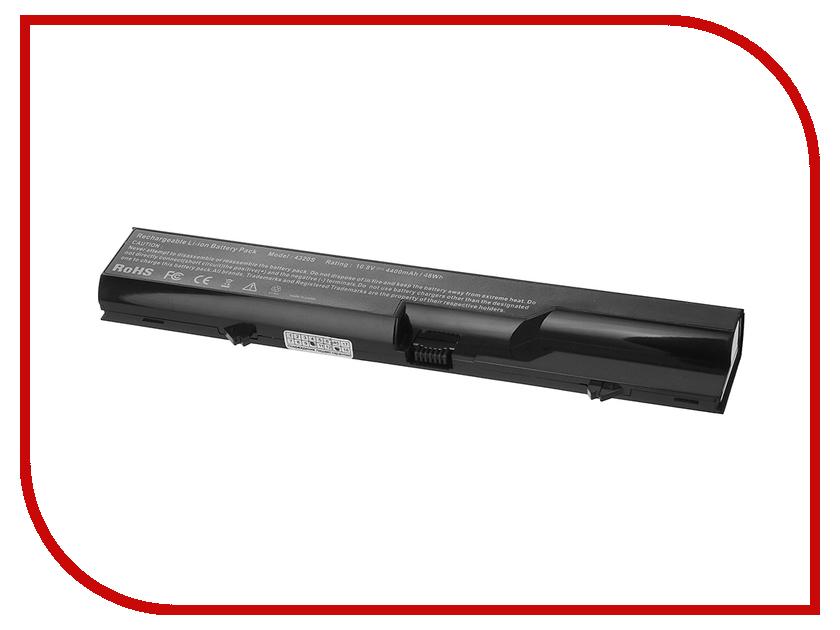 Аккумулятор Tempo HP4320 10.8V 4400mAh для HP 425/4320t/625 ProBook 4320s/4320t/4321s/Compaq 320/321/325/326/420/421/425/620/621/625 Series<br>