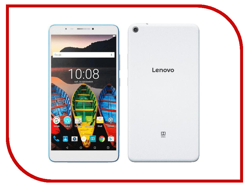 Планшет Lenovo Tab 3 Plus TB-7703X ZA1K0028RU Qualcomm Snapdragon 410 MSM8916 1.4 GHz/2048Mb/16Gb/LTE/3G/Wi-Fi/Bluetooth/Cam/7.0/1280x720/Android<br>