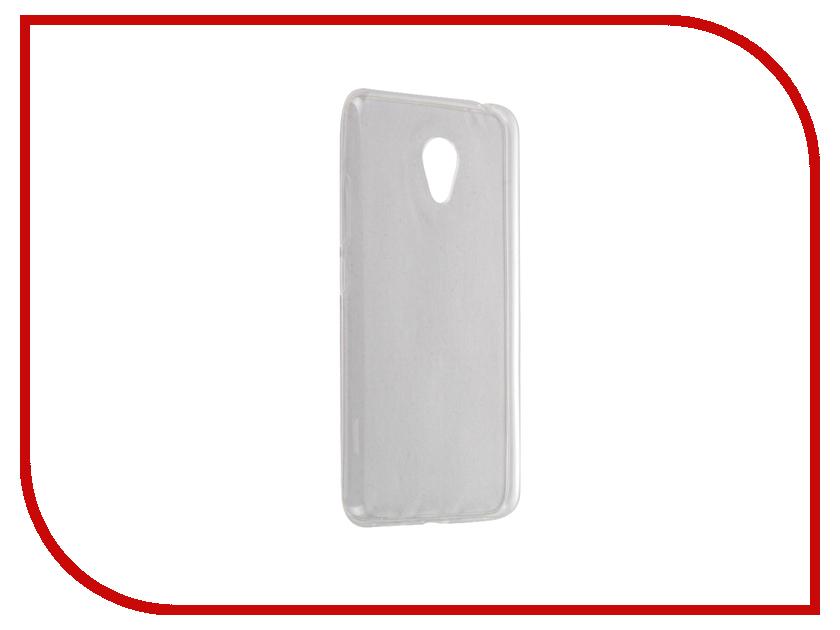 Аксессуар Чехол Meizu M3s Mini Zibelino Ultra Thin Case White ZUTC-MZU-M3S-MIN-WHT