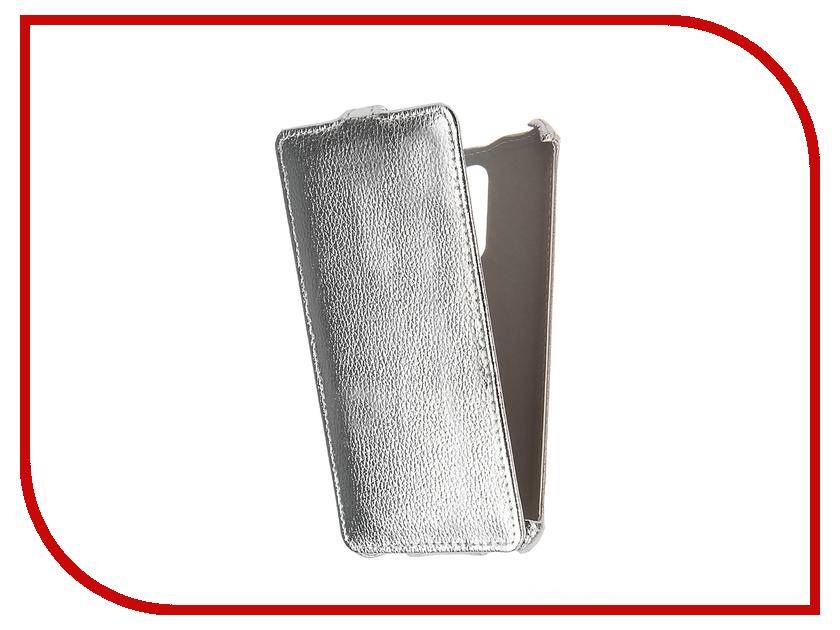 Аксессуар Чехол Xiaomi Redmi Note 3 Zibelino Classico Silver ZCL-XIA-NOT3-SLV<br>