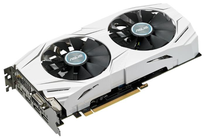 Видеокарта ASUS GeForce GTX 1060 1506Mhz PCI-E 3.0 3072Mb 8008Mhz 192 bit DVI 2xHDMI HDCP DUAL-GTX1060-3G palit geforce gtx 1060 1506mhz 6144mb 8008mhz 192 bit dvi hdmi hdcp jetstream ne51060015j9 1060j