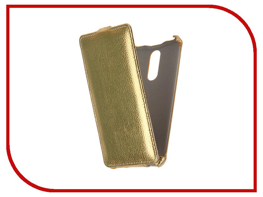 Аксессуар Чехол Xiaomi Redmi Note 3 Zibelino Classico Gold ZCL-XIA-NOT3-GLD<br>