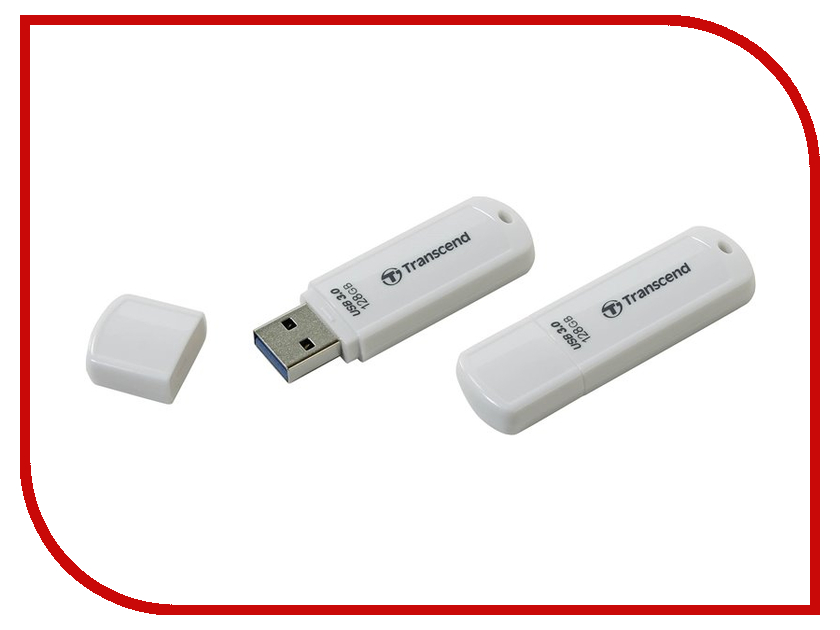 USB Flash Drive 128Gb - Transcend FlashDrive JetFlash 730 TS128GJF730