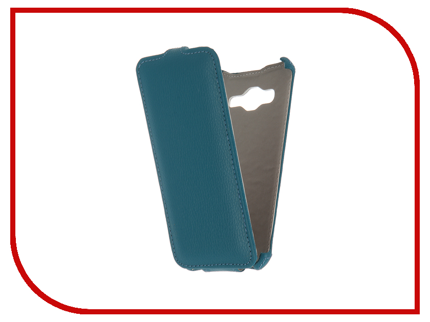 Аксессуар Чехол Samsung Galaxy J3 2016 SM-J320F Zibelino Classico Turquoise ZCL-SAM-J3-2016-TQS<br>