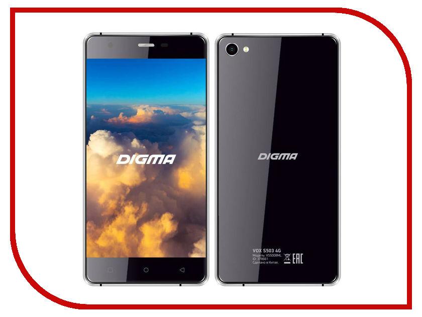 Сотовый телефон Digma VOX S503 4G Black-Grey<br>