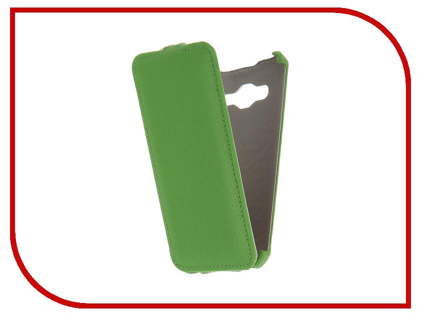 Аксессуар Чехол Samsung Galaxy J3 2016 SM-J320F Zibelino Classico Green ZCL-SAM-J3-2016-GRN<br>