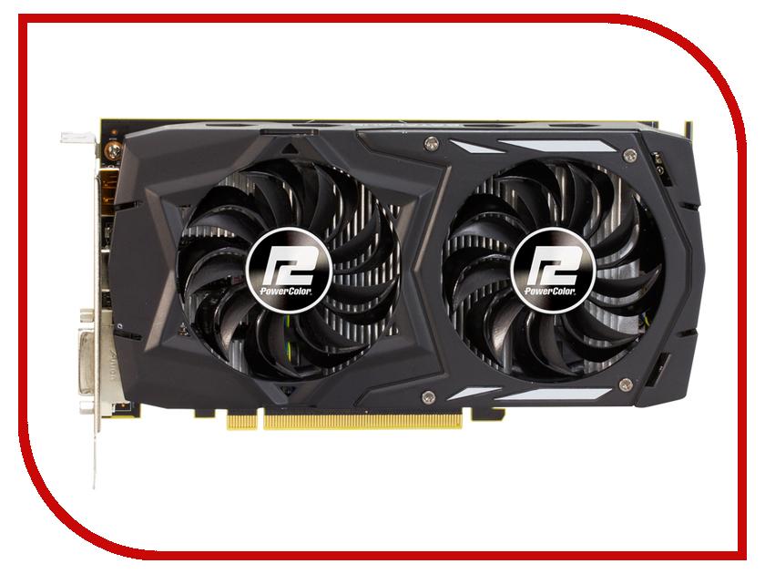Видеокарта PowerColor Radeon RX 460 1212Mhz PCI-E 3.0 4096Mb 7000Mhz 128 bit DVI HDMI HDCP AXRX 460 4GBD5-DHV2/OC<br>
