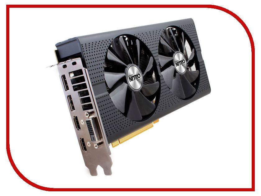 Видеокарта Sapphire Nitro+ Radeon RX 480 1208Mhz PCI-E 3.0 8192Mb 8000Mhz 256 bit DVI 2xHDMI HDCP 11260-07-20G<br>