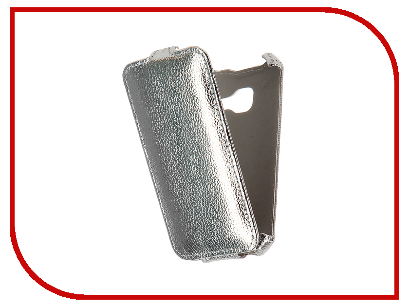 Аксессуар Чехол Samsung Galaxy J1 mini 2016 SM-J105H/DS Zibelino Classico Silver ZCL-SAM-J1MINI-2016-SLV<br>