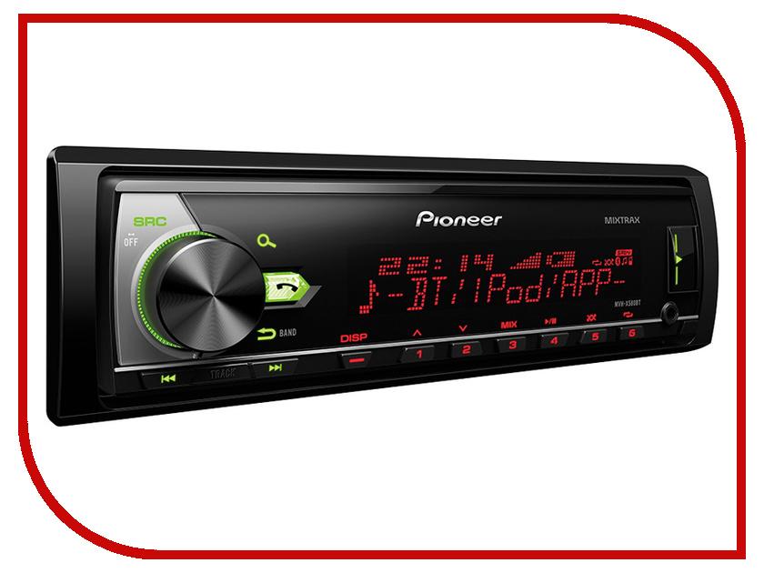 Автомагнитола Pioneer MVH-X580BT pioneer x5600bt цена