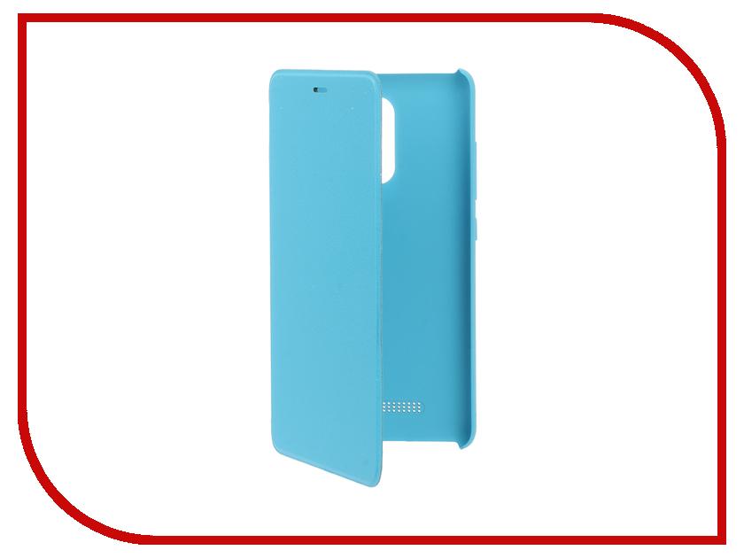 Аксессуар Чехол Xiaomi Redmi Note 3 Flip Case Blue<br>