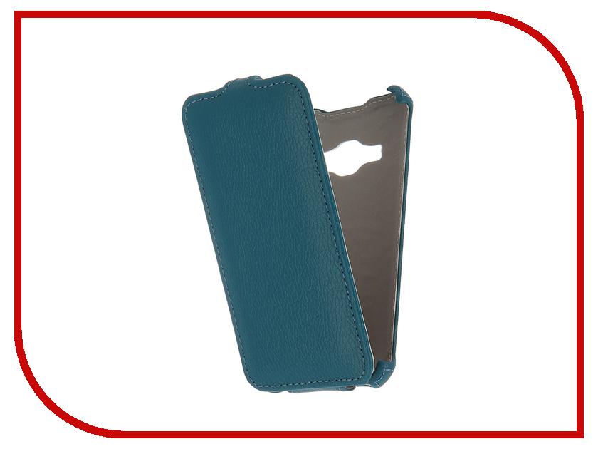 Аксессуар Чехол Samsung Galaxy J1 2016 SM-J120F/DS Zibelino Classico Turquois ZCL-SAM-J1-2016-TQS<br>